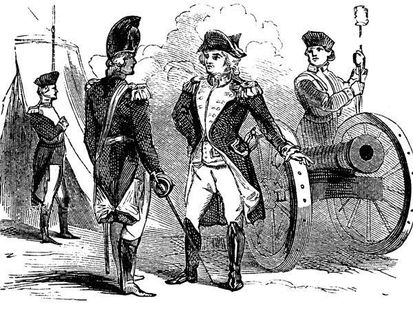 American revolution dates in Melbourne