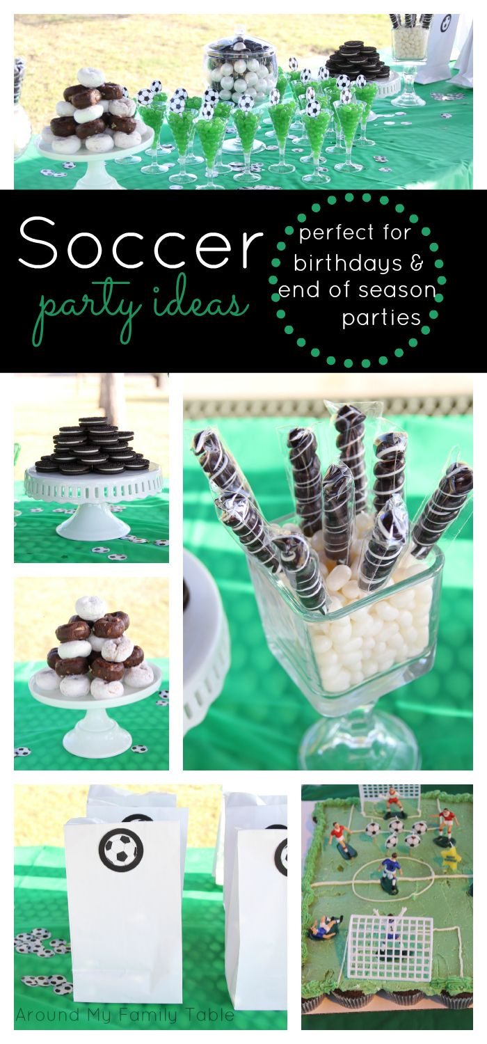 Best 25+ Soccer party themes ideas on Pinterest | Soccer party ...