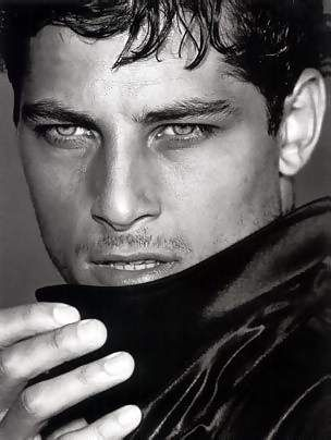 Atesh Salih for Armani i dont usually love b and w pics but this is too good