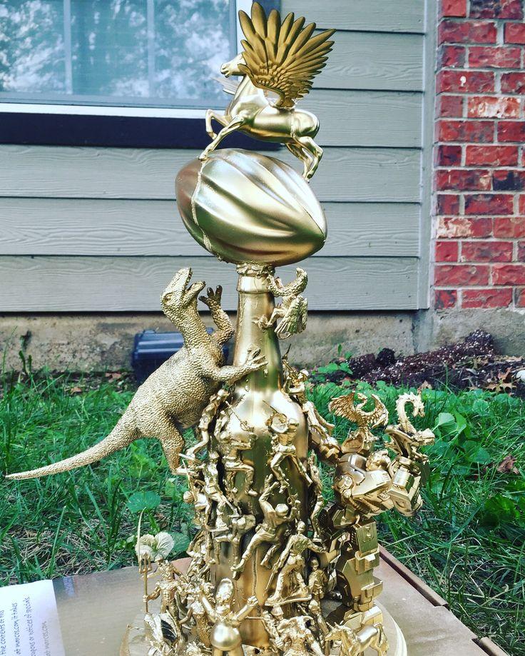 DIY Fantasy Football Trophy More