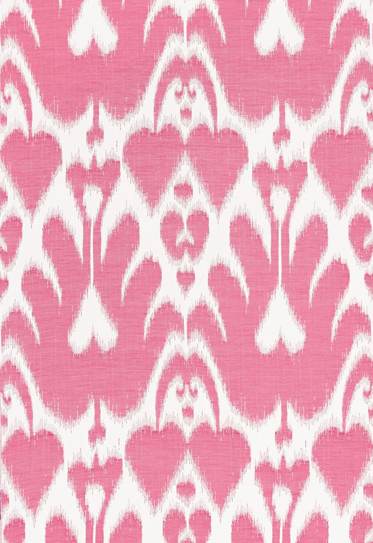 Lela Cotton Ikat in Berry, 68583. http://www.fschumacher.com/search/ProductDetail.aspx?sku=68583 #Schumacher