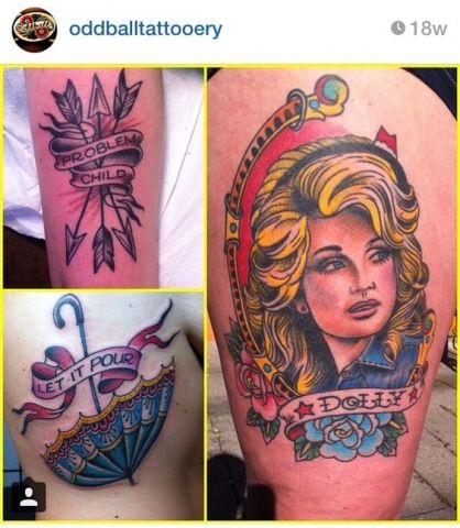 12 Dolly Parton Tattoos