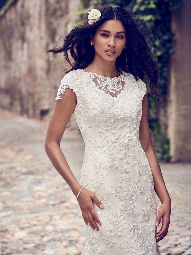 Stacey By Maggie Sottero Wedding Dresses Modest Bridesmaid Dresses Wedding Dress Necklines Maggie Sottero Wedding Dresses