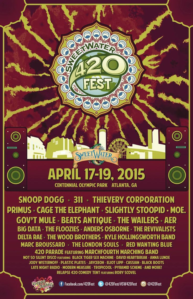 Sweetwater purchases pyramid brewing equipment plans to build second - Full Sweetwater 420 Fest Lineup Announced