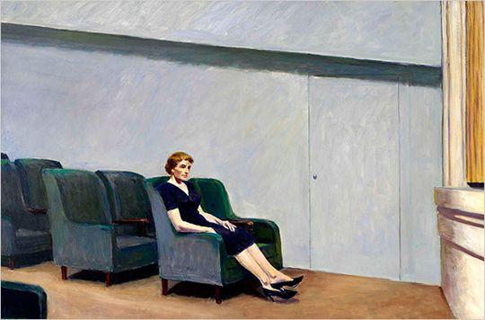 Entracte de Edward Hopper