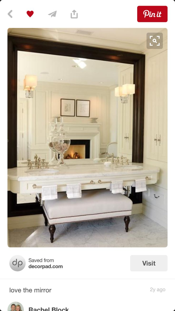Bathroom Big Mirrors 44 Best Images On Pinterest Home Room And Bathroom Ideas