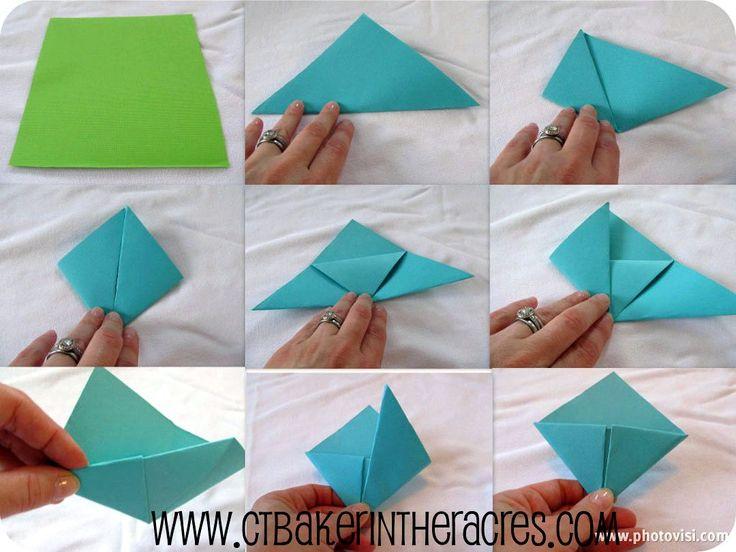 Как сделать детскую закладку из бумаги