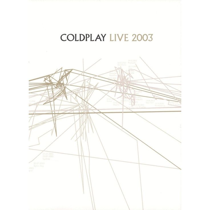 Coldplay: Live 2003 (2 Discs) (dvd_video)