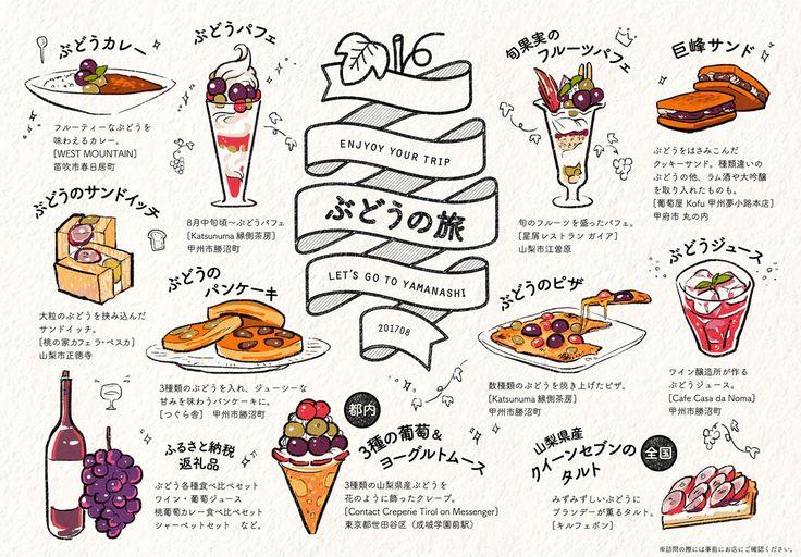 「ぶどうの旅」 by omiso. http://kn.o0o0.jp/