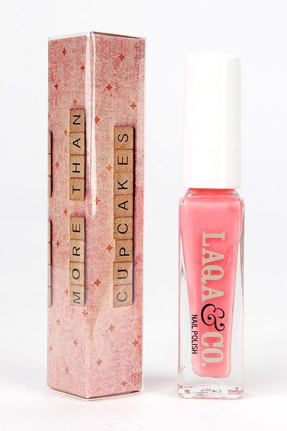 LAQA & Co. Gryffandor Bright Pink Nail Polish at Lulus.com!