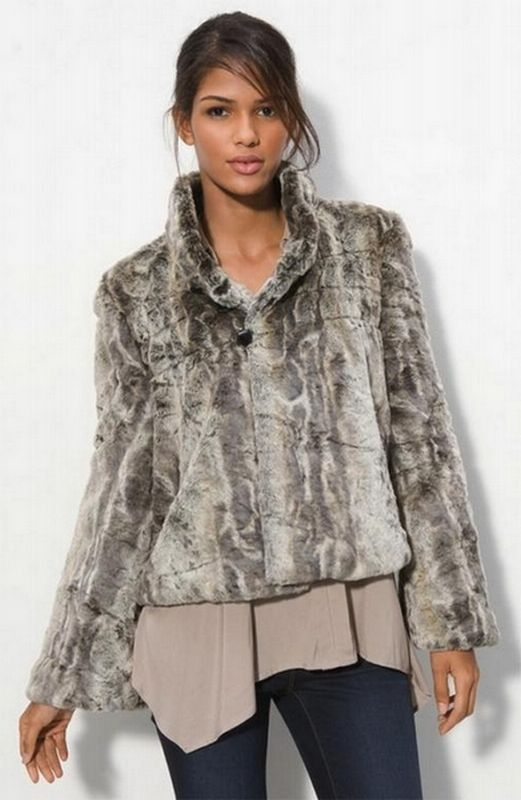 Real Polar Bear Fur Coat