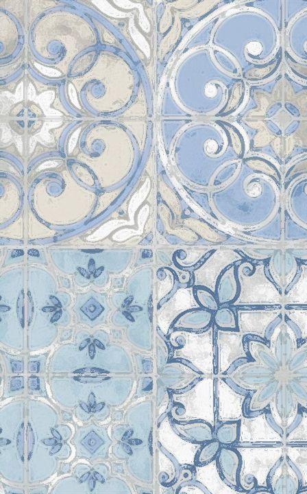 blue tiles - perfect pattern