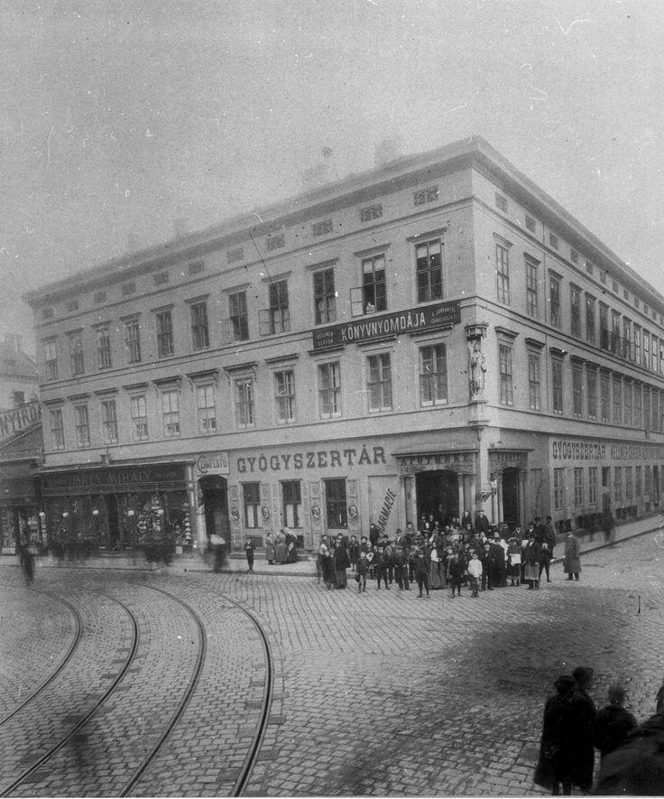 Király utca 49. around 1896