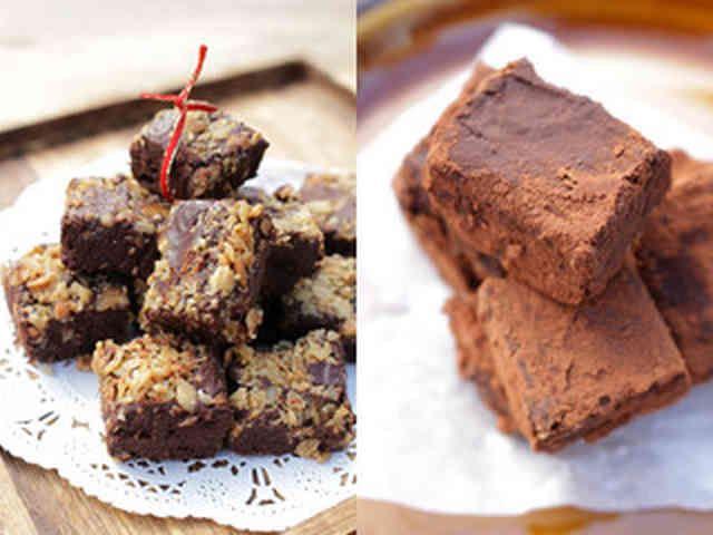 ココナッツオイルとココアの生チョコ
