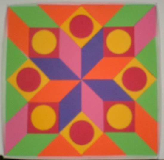 Rompecabezas con figuras geom tricas creando mi propio for Cuadros con formas geometricas