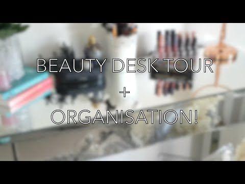 BEAUTY DESK ORGANISATION