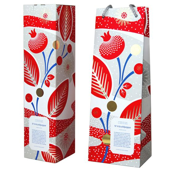 Great packaging and illustration from Hanna Werning...