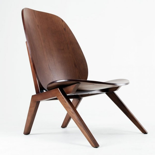 Klassiker Chair Is The First Lounge Chair Designed By South Korean Designer  Minwoo Lee. Its Low Lounge Base Is Reminiscent Of The Eames LCW, But The  High B