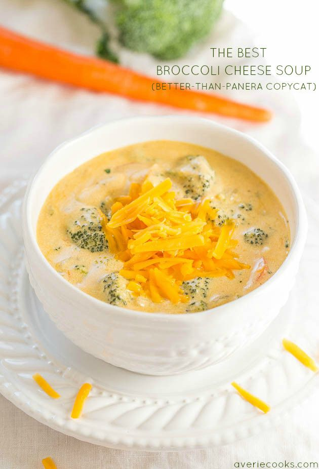 The Best Broccoli Cheese Soup