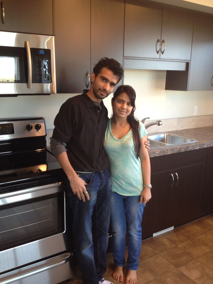 Welcome home Saurabh & Komal!
