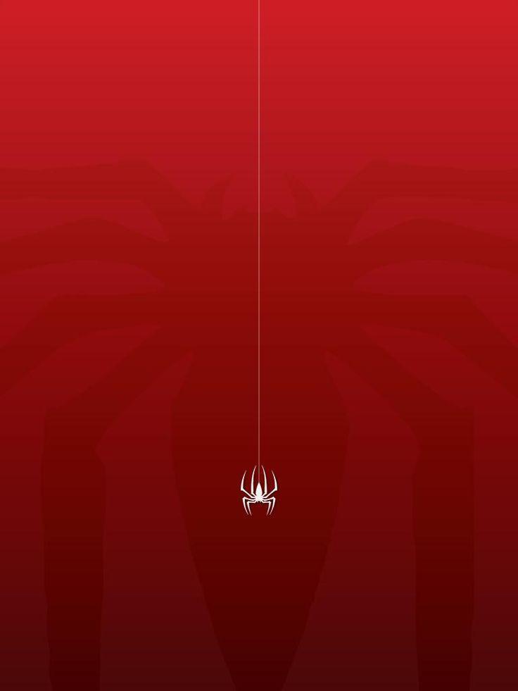 iPhone X Wallpaper spiderman movie mobile wallpaper minimalist 30724096 HD 4k Do...
