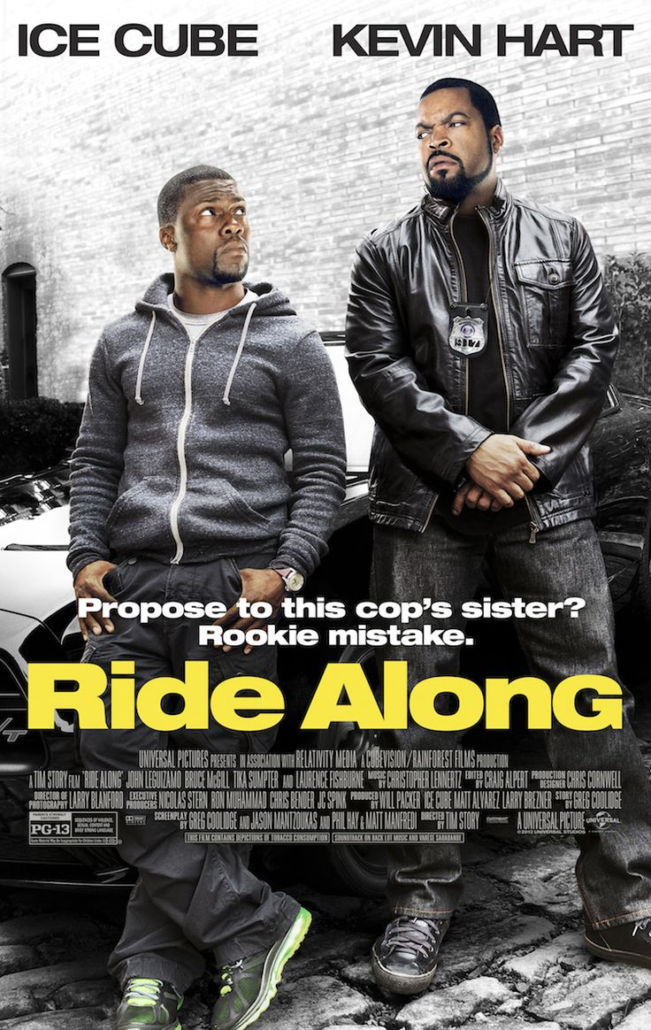 » {Movie Review} Ride Along | starring Kevin Hart and Ice Cube / Kiwi The Beauty