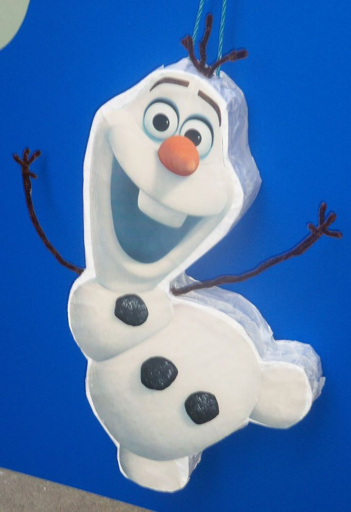 Pull String Olaf from Frozen Pinata party Cute Look BIRTHDAY
