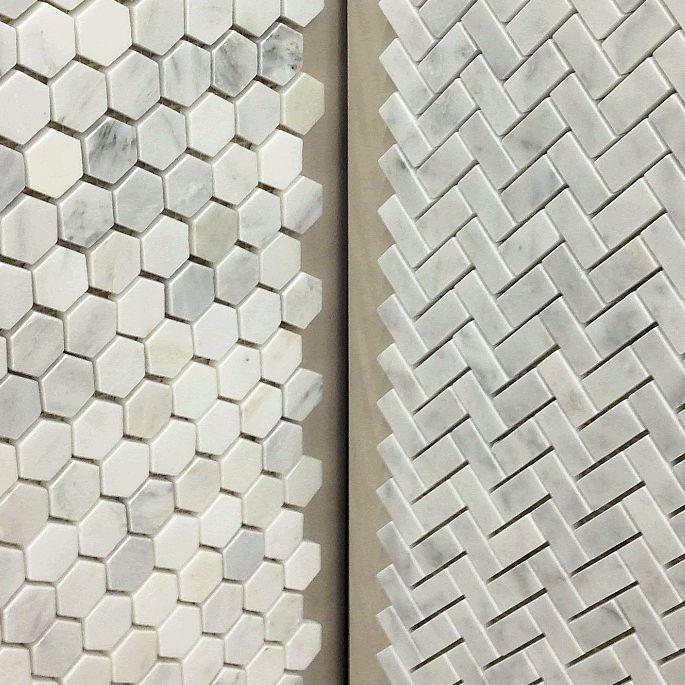 Tile Herringbone And Marble Tiles On Pinterest
