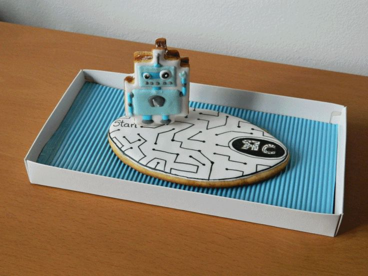3D moving robot # cookie #it