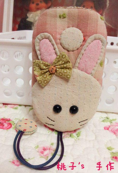 萌兔仔系列手机包/钥匙包