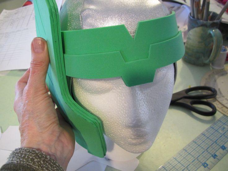 Thor's helmet tutorial EVA foam
