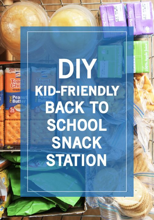 This DIY Kid-Friendly Back-to-School Snack Station from Inspired Gathering is here to make prepping lunches and snacks easy—and fun for the whole family!