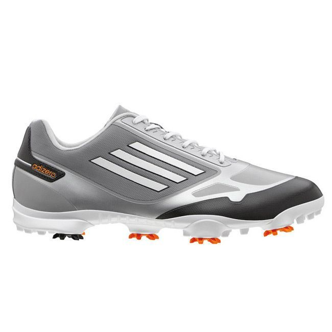 Adidas Men's Adizero One Mid /Zest/Running White Golf Shoes