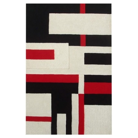 I pinned this Modern Cool 5'x 8' Rug from the Black & White & Red All Over event at Joss and Main!
