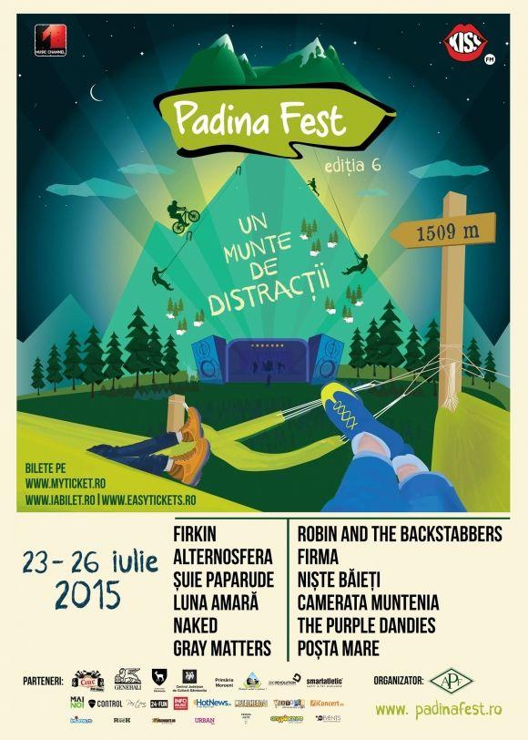 Incepe Padina Fest, festivalul de la inaltime