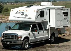 truck campers | Northwood Arctic Fox truck camper exterior 1