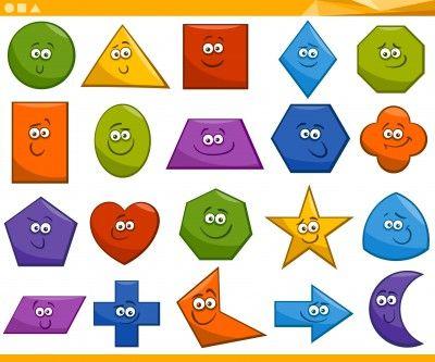 197 best FIGURAS GEOMTRICAS images on Pinterest  School Math