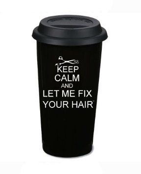Everyone needs to go buy one of these for their #hair stylist ASAP! #coffee @Lauren Davison Davison Davison Graham