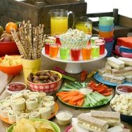 Party Shot Finger Buffet Food IdeasFood For BuffetSimple 1st Birthday