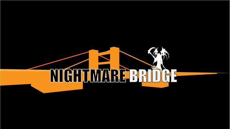 Nightmare Bridge. Our October event logo. YouTube.com/dreambridgelists