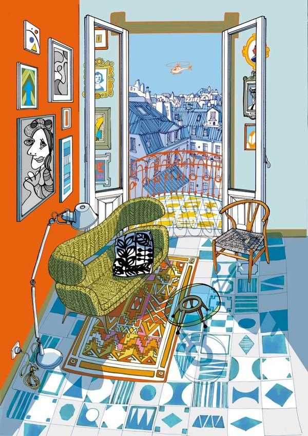 Interior Design for Mapei by carlo stanga, via Behance