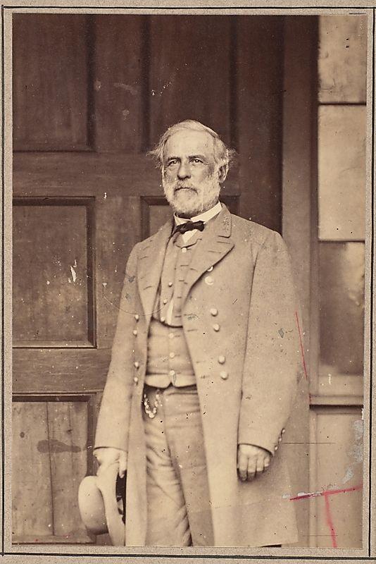 Mathew B. Brady (American, 1823?–1896). General Robert E. Lee, 1865. The Metropolitan Museum of Art, New York. Gilman Collection, Museum Purchase, 2005 (2005.100.1213)
