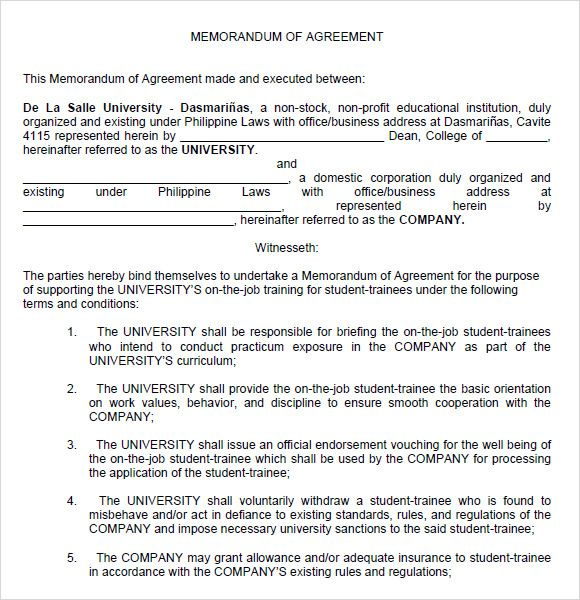 Agreement Between Two Parties Template Sample Nanny Contract - agreement between two parties template
