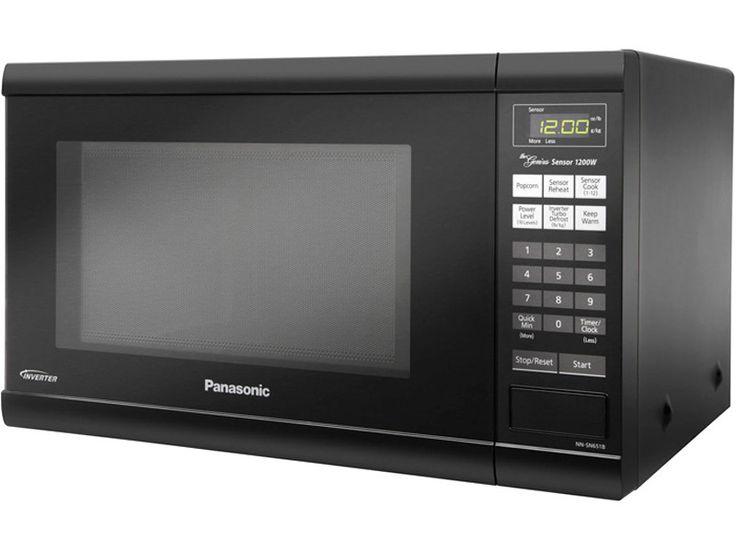 Panasonic NNSN651B Black Microwave Countertop 1.2Cf 1200Watt