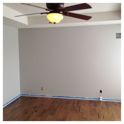 benjamin moore nimbus. This is a nice option for rooms that I don't want to do dark but don't want boring neutrals.