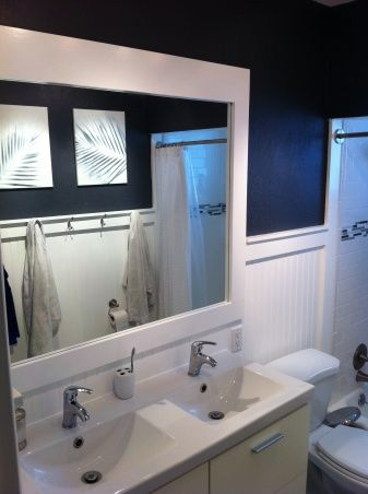 Budget Friendly Small Bath DIY : Bathroom : Rate My Remodel : HGTV Remodels