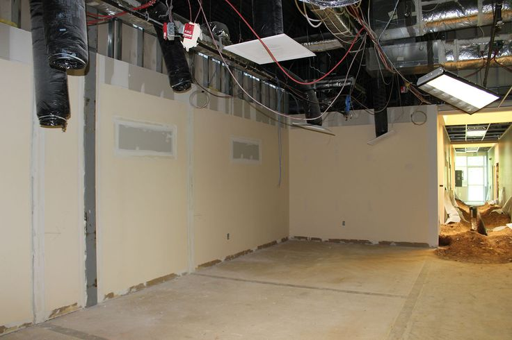 Advanced Biotechnologies (ABI) recently signed a lease with us at our Eldersburg Business Center. Here's a progress shot as renovations begin!