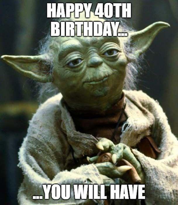 Pin On 40th Birthday Meme