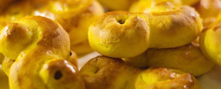 Glutenfria Lussekatter