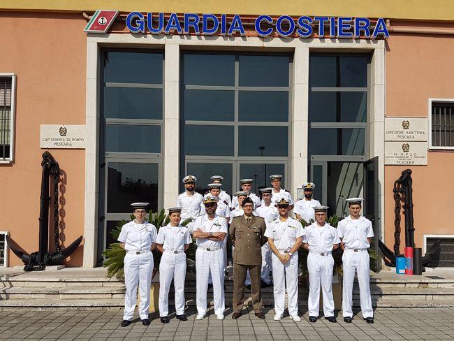 Progetto di orientamento al lavoro per i giovani volontari della Capitaneria di Porto